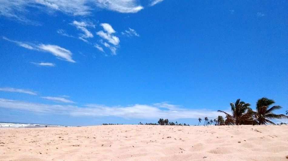 Beach Blue Sky Sea Nature Travel Destinations Summertime Outdoors Sand Dune No People Day Cloud - Sky Tourism Vacations Tranquility Nature Beauty In Nature Landscape Scenics Smartphonephotography Moto Z Play EyeEm Nature Lover EyeEm Best Shots Landscape_Collection The Week On EyeEm