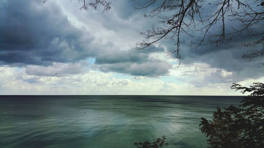 Nature Cloud - Sky Scenics Outdoors Landscape Water Day No People Beauty In Nature Sky Horizon Over Water Lake Michigan Lake Lake View Nature Reflection Cloud Formations Clouds & Sky Cloudscapes Cloudy Skies Clouds Collection Stormy Sky Storm Clouds Storm Coming