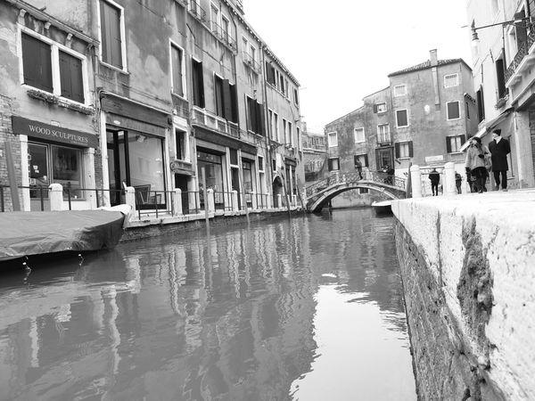 Blackandwhite Canal Veneto Venezia Venezia #venice Venice Venice, Italy Watercity