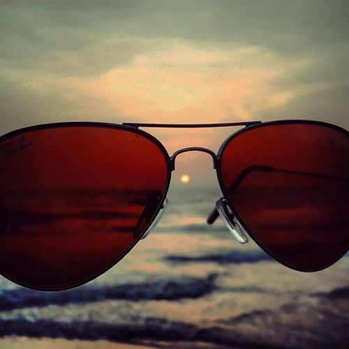 Awesome Sun_glass Sunsetlovers Sunset Rayban Sunglass  Perfect Beautiful Beachlovers Bestoftoday Cloudy Cloudsporn Monsoon Timepass Samsung_s4 Samsung_galaxy SamsungS4 Mobilephotography Simple Photography Instapictures Insta_creativity