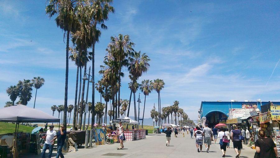 Los Angeles, California Beach Sunshine Venice Boardwalk