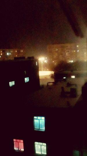 Ночь красота Гуляю с другом