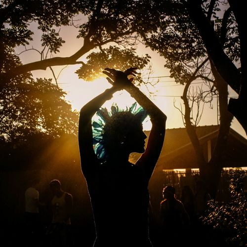 Heat in Sao Paolo 43 Golden Moments Brasil Sunset Silhouette Traveling Dance