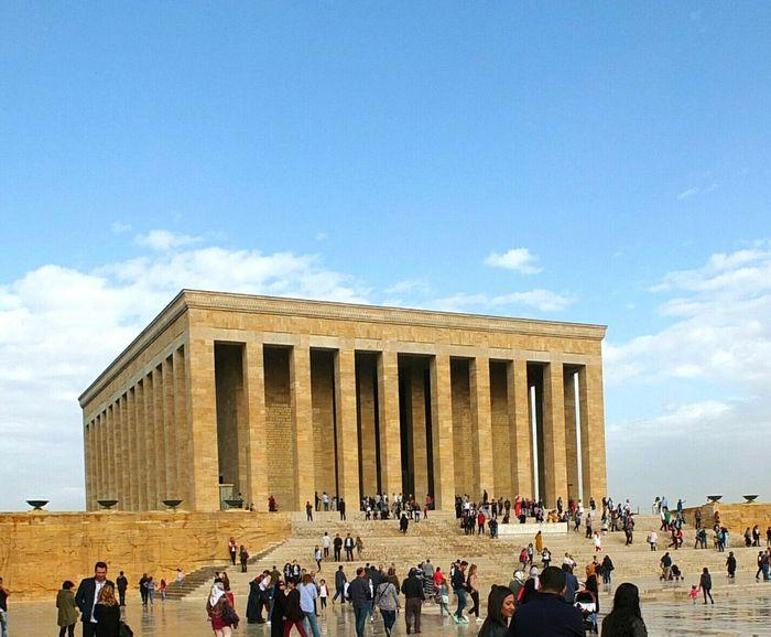 Ankara Türkiye Anıtkabir Anitkabir Museum Atatürk ATATÜRK ❤ People Men Women