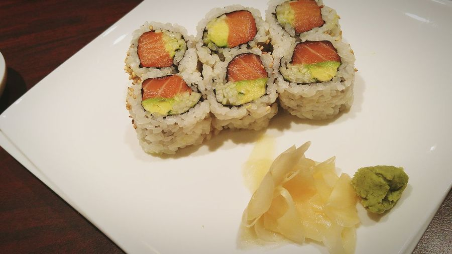 Alaskan roll, cheap and delicous!