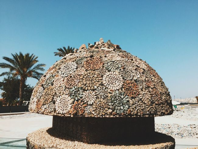 Egypt National Library 📚 Simplicity Minimalism Exploring Sky Clear Sky Nature Sunlight Day Beach The Architect - 2018 EyeEm Awards Tree Plant Outdoors Blue Sea Sunny
