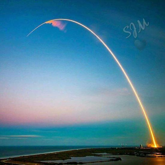 Rocket launch Rocket Launch Kennedy Space Center  Arch Awesome Colors Florida Life