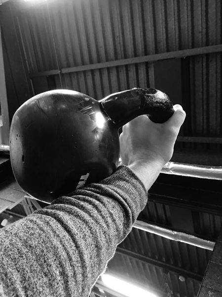 Low Angle View Indoors  Close-up Day Sky Man Made Object Kettlebell  GetAfterIt Discipline Equals Freedom