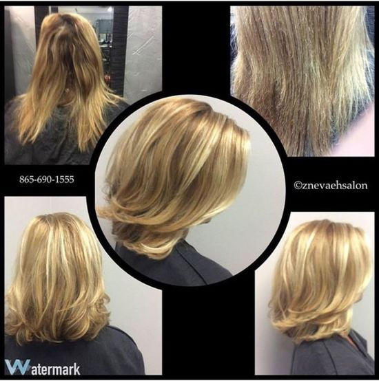 Wow! What A Makeover @znevaehsalon using @lorealprous Check This Out Eye4photography # Photooftheday L'Oreal Professionnel Z Nevaeh Salon Check This Out Hairtrends Blondehair Glamour Blonde Pro Fiber Color Specialist Knoxville Salon Tecni.art Lorealpros Haircut Lorealprofessionnelsalon Hairstyle Salonlife