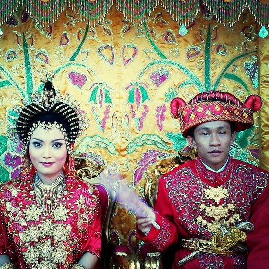 The Wedding Traditional Costume Of Indonesia Congratulation :D