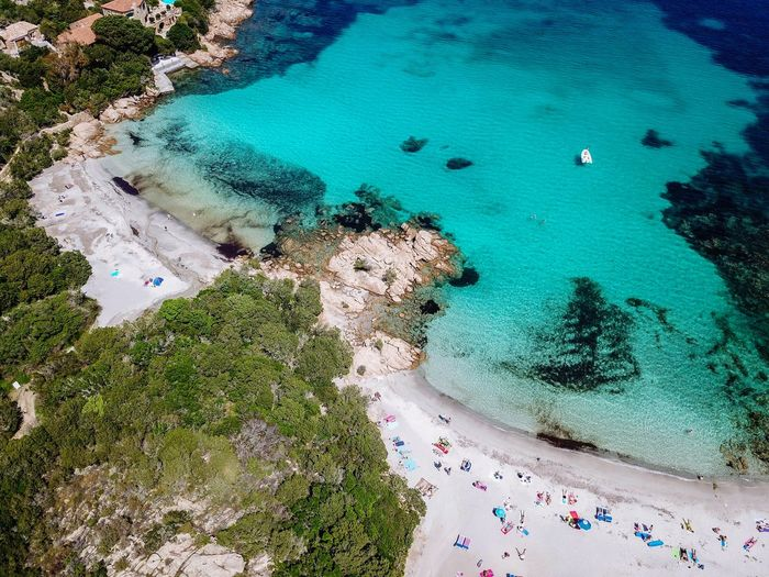 Capriccioli, Sardegnia Dronephotography Life Is A Beach EyeEm Nature Lover Landscape EyeEm Gallery Nature Travel Landscape_Collection Naturelovers DJI Mavic Pro Aerial View Aerial Drone  Droneshot Dji Sardegna Traveling Water Beach Sea Sand Aerial View High Angle View Idyllic Coast Tranquil Scene Sandy Beach Seascape Horizon Over Water Scenics