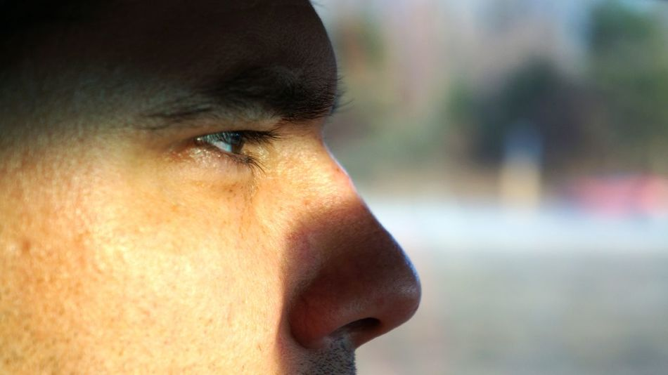 Brown Eyes Close-up Contemplation Day Eye Face Focus On Foreground Focusing Human Body Part Human Face Lifestyles Light And Shadow Male Man Nose Part Of Profile Real People Shadow Side View Squinting The Portraitist - 2016 EyeEm Awards