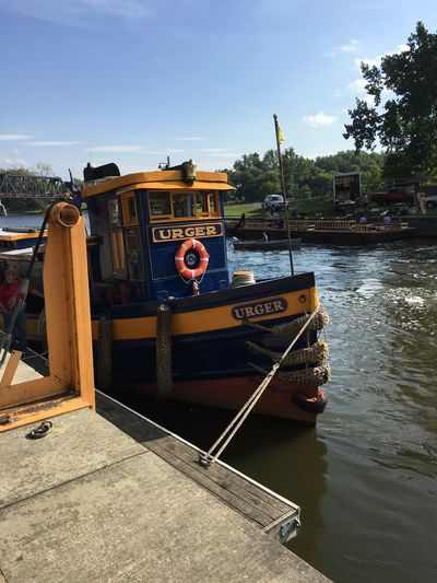 Transportation Water Cohoes-New York Waterford_newyork Tugboatroundup2016 Boat