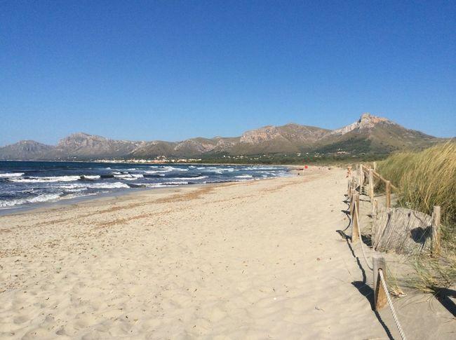 Son Sierra de Marina Mallorca Beach Sand Blue Water Sea Summer