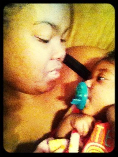 My TT Baby & Her Aunt....