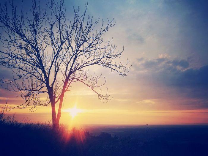 Get a breath fresh air ! sunset sun clouds skylovers sky nature beautifulinnature naturalbeauty photography landscape [