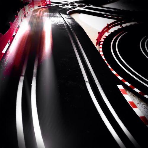 Road in night