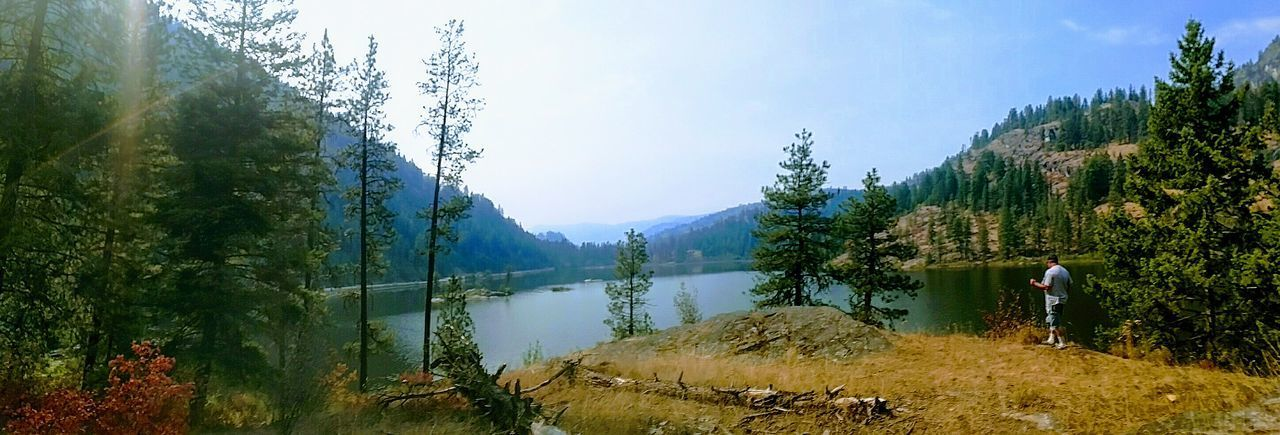 Lake Ellen, Washington One Man Only Nature Outdoors Beauty In Nature Mountain Sky Water Quite Moments Reflection
