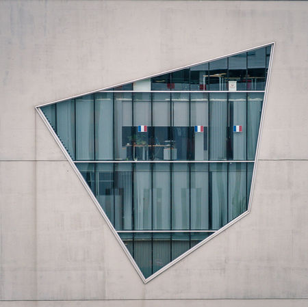 Abstract Architectural Feature Architecture Building Built Structure Confluence Day Exterior Lyon Lyon Confluence Modern No People Office Building Office Window Outdoors Progrès Quick & Dirty Reflection Repetition Urban Geometry Urbex Urbexphotography