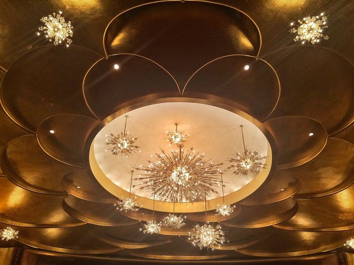 The Metropolitan Opera Architecture Chandelier Ceiling New York Interior Views