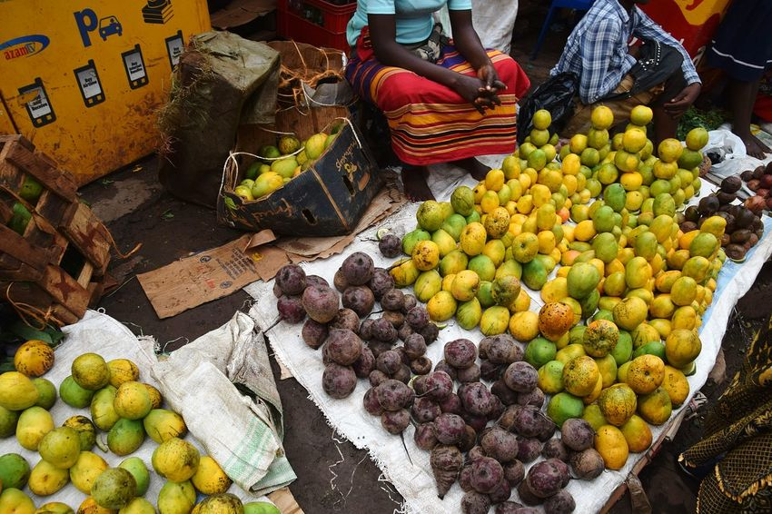Fruit Multi Colored Market Choice Healthy Lifestyle Retail  Variation Business Finance And Industry For Sale Farmer Market Mango Mango Fruit Passion Fruit Adventures In The City