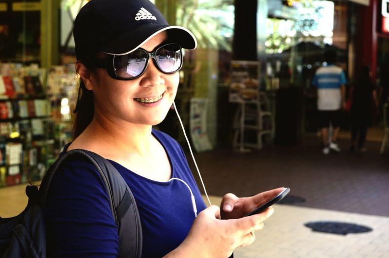 My lovely better half. EyeEm Best Shots Eyeem Philippines Beautiful Relationship Love Snoworld.one/bestshot Cellphone This Is Family Visual Creativity The Portraitist - 2018 EyeEm Awards