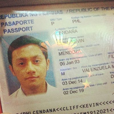 Got my renewed passport. Ready to travel this 2015! :) Dfa Passport