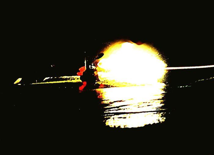 Smoke - Physical Structure Tank Shotting At Night
