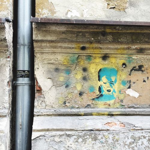 EyeEm Selects David Bowie Stencil Stencil Art Street Photography Street Art Wroclaw, Poland