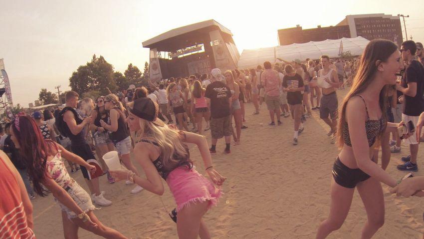 Mad Decent BLOCK PARTY!! Philadelphia Dancing Enjoying Myself