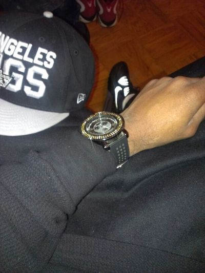 Blackandwhite Looking For Trouble Blessed  Black Thermal Black Time Piece Also Black Maxes 99 Problems And He Help Me Threw Dem All