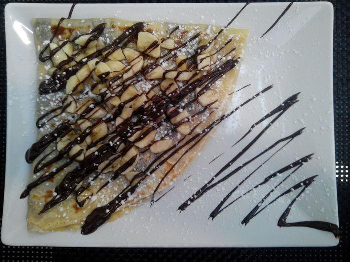 Crepe De Chocolate E Banana Chocolate And Banana Crep Creps Chocolate Crep Crepe Time Crepe Waffle House Waffle
