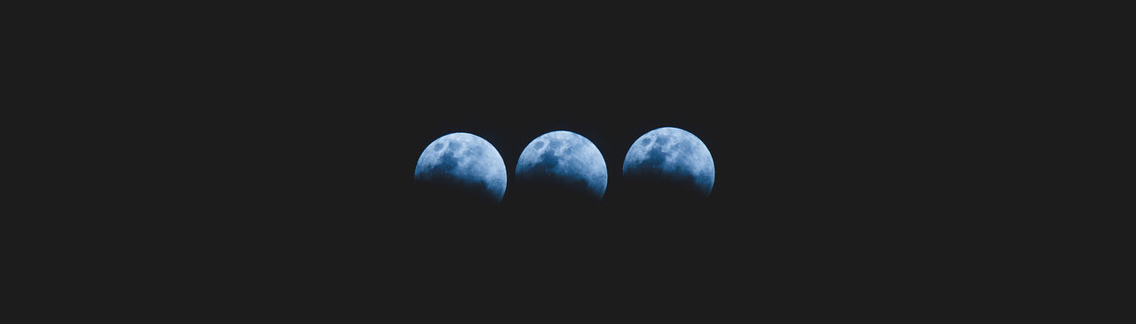Black Background Blue Close-up Superbluebloodmoon Moon Blue Moon Studio Shot Indoors  No People Day