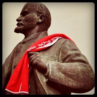 Lenin on the #Towelday Towelday