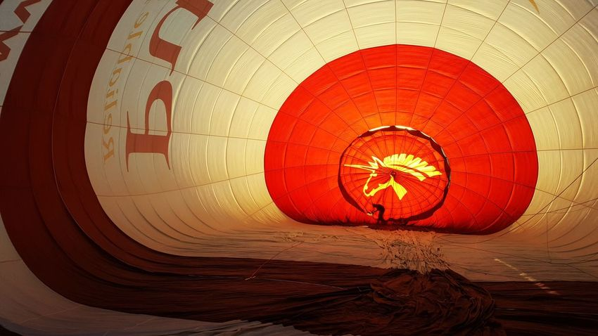 Red Outdoors AirBalloon Airballoons Air Balloon Montgolfière  Sunrise Shadows & Lights Shadow Silhouette Glow Built Structure Air Travel Photography Travel Experience Bucketlist Unicorn Unıcorn Unicorns Bucket List Balloon Ballooning Balloon Ride