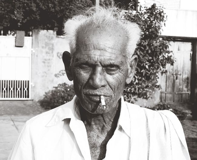 Portrait Of Senior Man
