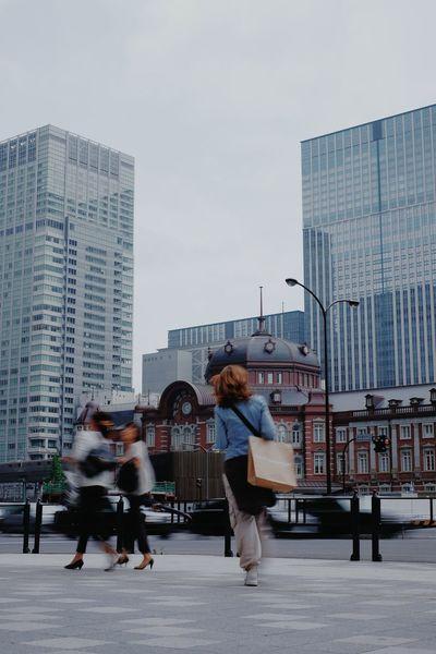 EyeEmNewHere Tokyo Street Photography Tokyo Station Streetphotography Street Photography Streetphoto_color Snapshot Snapshots Of Life City City Life Urban Urbanphotography Train Station Marunouchi