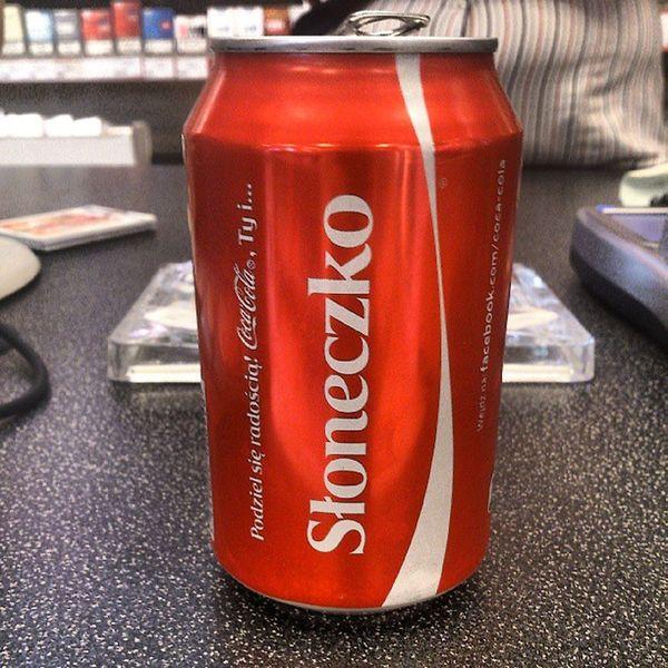 Coca Cola Sloneczko Sunshine summer drink
