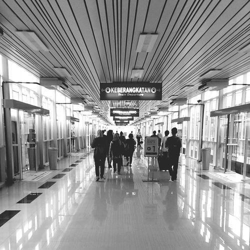 monday train Train Monochrome INDONESIA