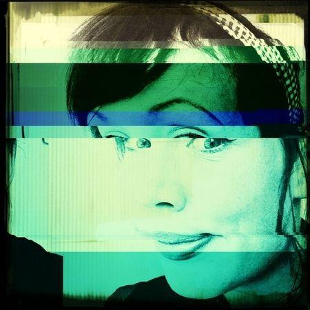 Selfportrait Glitch Glitcheapp Self Portrait