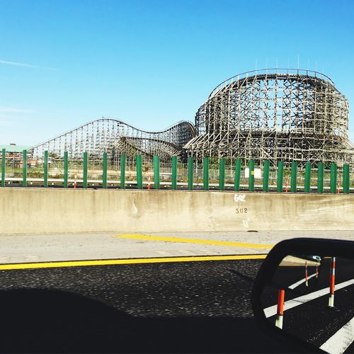 Old Haunts Abandoned Rollercoaster Up Close Street Photography