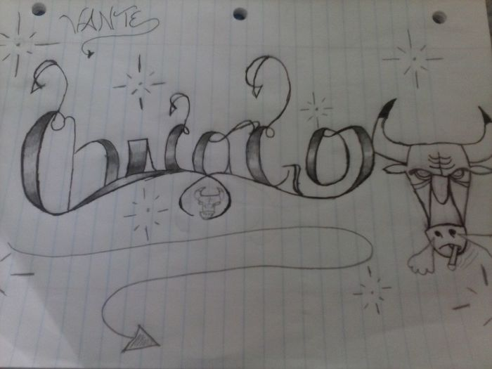Chicago Chicago Made Nigga Drawinq Bored Tho #Like