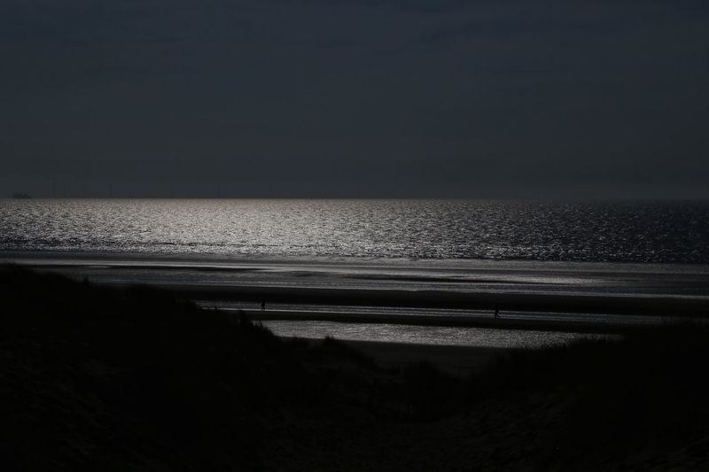 Formsby Beach Formsby Beach Liverpool Sea Sky Water Scenics - Nature Horizon Horizon Over Water Beauty In Nature Beach Tranquility Land Tranquil Scene Nature No People Copy Space Clear Sky Idyllic Sand Outdoors Travel