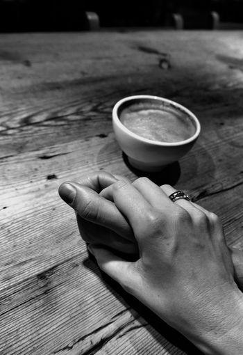 Coffee lovers. My Happy Place  Monochrome Blackandwhite The Five Senses Everyday Joy