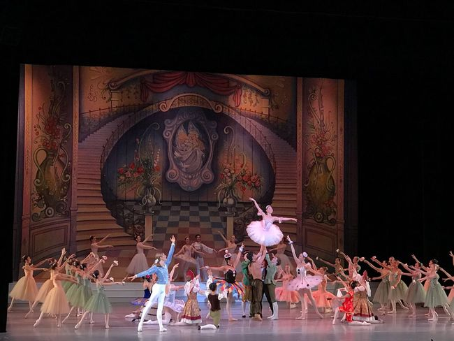 The Arts Cultures Theater Performance Holiday Nutcracker Ballerina Ballett Large Group Of People Men Indoors  Real People Women Day Adult
