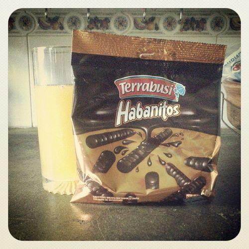 Delicias. Habanitos Food Chocolate Terrabusi placer