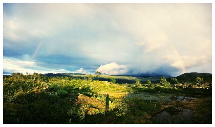 Rainbow Cloud - Sky Sky Auto Post Production Filter Landscape Environment Plant Transfer Print Scenics - Nature