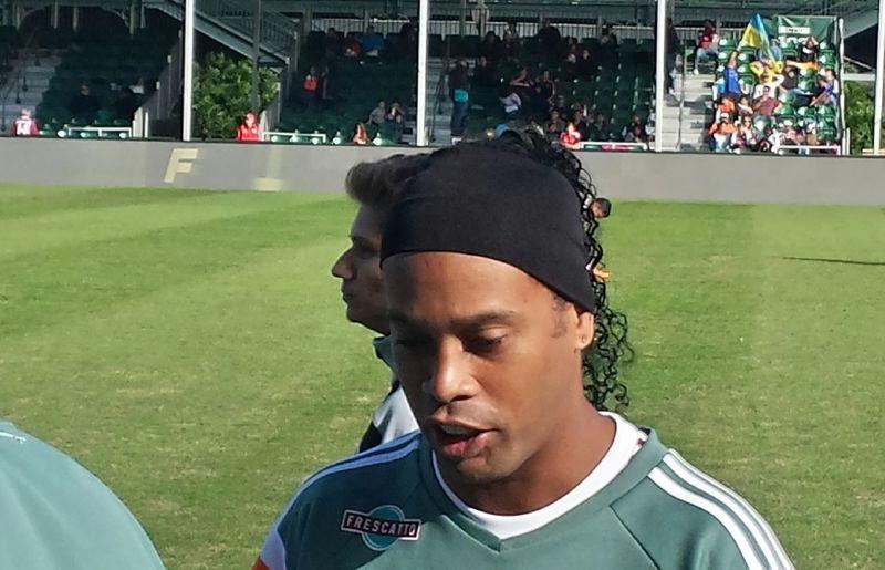 Showcase: January Soccer Futbol Legend Brazil Fluminense vs Shathkar Enjoying Life Around Me No Location Needed Popular Photos Ronaldinho