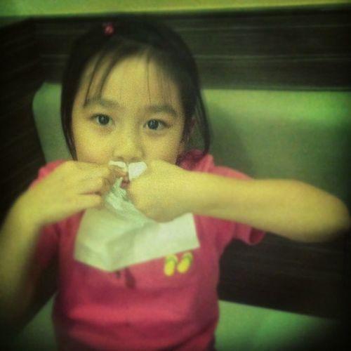 Tissue for dinner