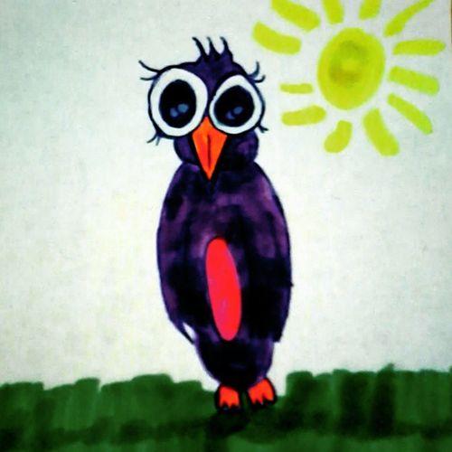 Tsfalk Langeweile Pinguin Rainbow Lila Grün Gelb Pink Orange Blau Liosnapshot Laime Warten Malwiedereinekreativemalphase